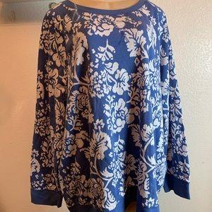 basic edition woman, blouse plus size 3X